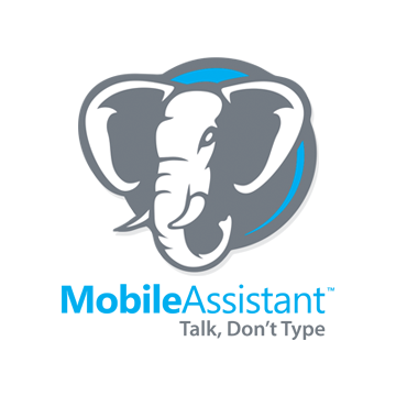 Mobile Dictation Service by Mobile Assistant Logo